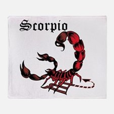 Scorpio Throw Blanket
