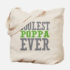 Coolest Poppa Tote Bag