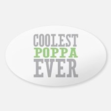 Coolest Poppa Decal