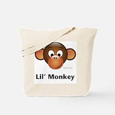 Lil' Monkey Tote Bag