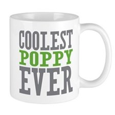 Coolest Poppy Small Mug