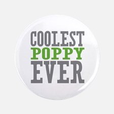 "Coolest Poppy 3.5"" Button (100 pack)"