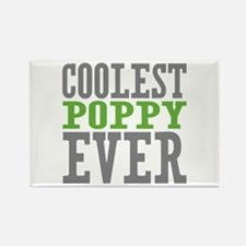 Coolest Poppy Rectangle Magnet (100 pack)