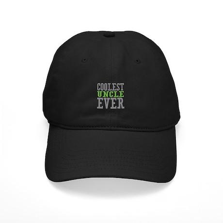 Coolest Uncle Black Cap
