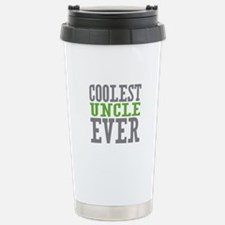Coolest Uncle Stainless Steel Travel Mug