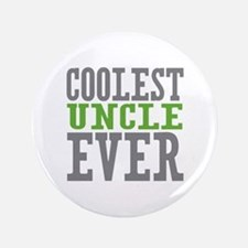 "Coolest Uncle 3.5"" Button"