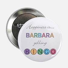 Barbara BINGO Button