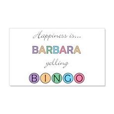 Barbara BINGO 22x14 Wall Peel