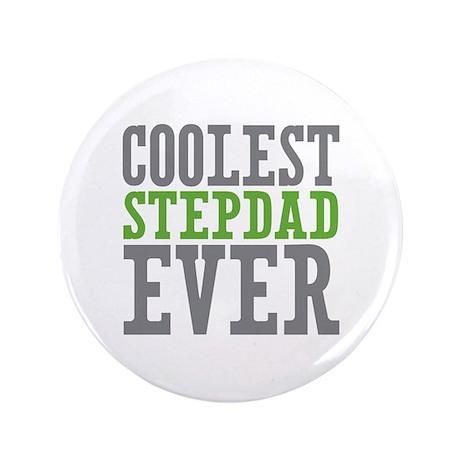 "Coolest Stepdad 3.5"" Button (100 pack)"