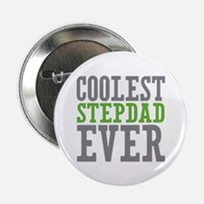 "Coolest Stepdad 2.25"" Button (10 pack)"