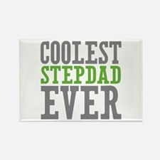 Coolest Stepdad Rectangle Magnet