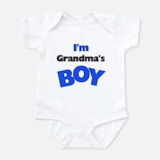 I'm Grandma's Boy Infant Creeper