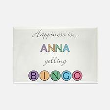 Anna BINGO Rectangle Magnet