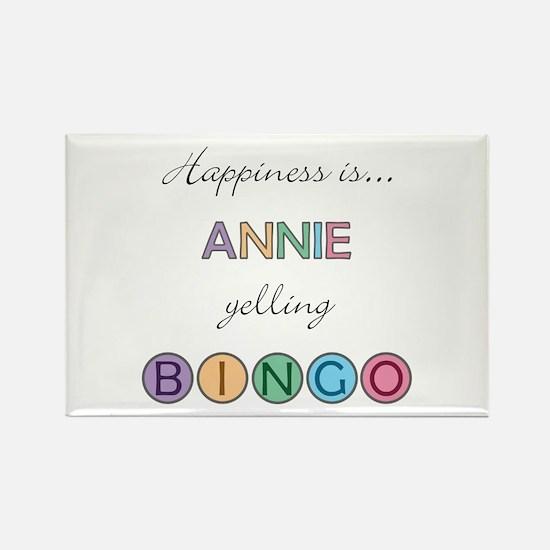 Annie BINGO Rectangle Magnet