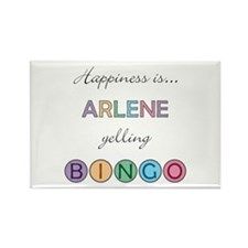Arlene BINGO Rectangle Magnet