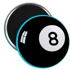 Magic Eight Ball Magnet Button