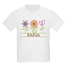 Raina with cute flowers T-Shirt