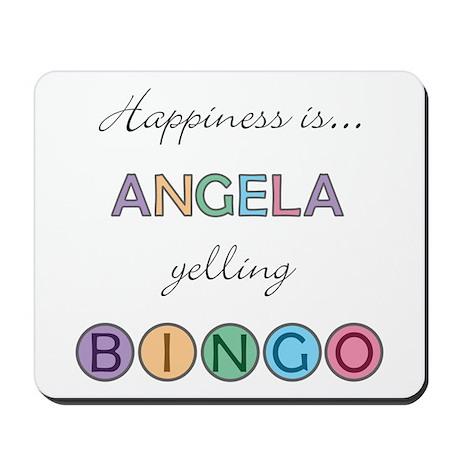 Angela BINGO Mousepad