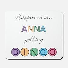 Anna BINGO Mousepad