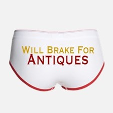 Will Brake For Antiques Women's Boy Brief