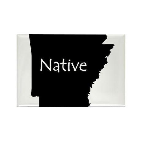 Arkansas Native Rectangle Magnet (10 pack)