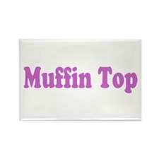Muffin Top Rectangle Magnet