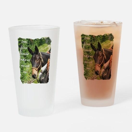 Mule Drinking Glass