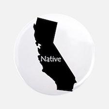 """California Native 3.5"""" Button"""