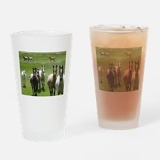 Funny Gallop Drinking Glass