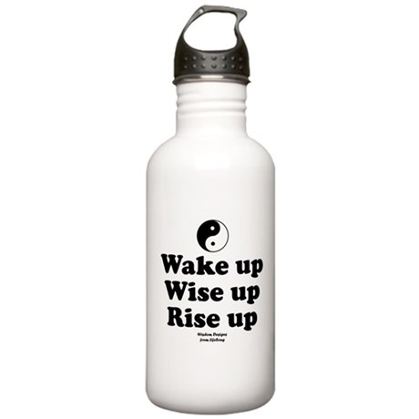 Wake Up 2 Stainless Water Bottle 1.0L