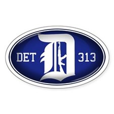 Detroit 313 - Decal