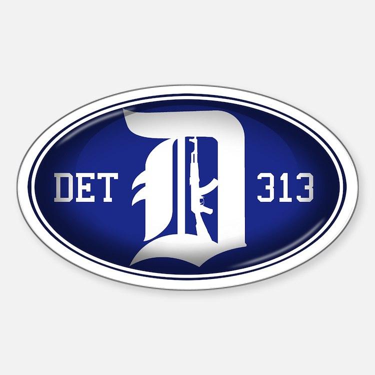 Detroit 313 - Decal