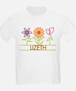 Lizeth with cute flowers T-Shirt