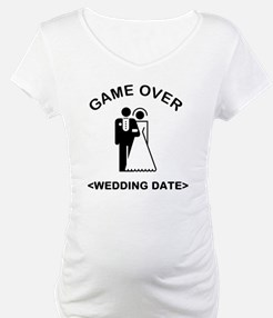 Game Over (Type In Your Wedding Date) Shirt