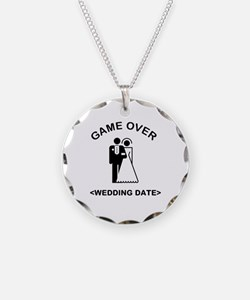Game Over (Type In Your Wedding Date) Necklace