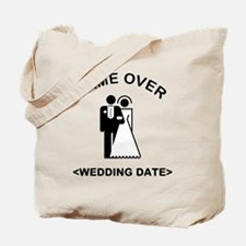 Game Over (Type In Your Wedding Date) Tote Bag