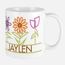 Jaylen with cute flowers Mug