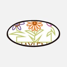 Jaylen with cute flowers Patches