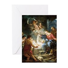 Christmas Cards 3: Douay Luke 2:14 (Pk of 20)