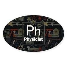 Physicist Retro Decal
