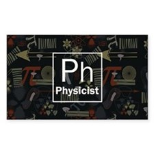 Physicist Retro Decal