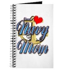 USN Proud Navy Mom Journal