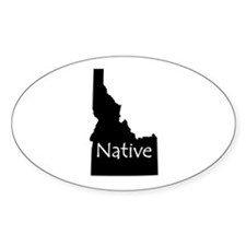 Idaho Native Decal
