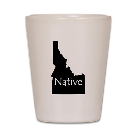 Idaho Native Shot Glass