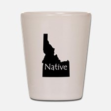 Idaho Native Shot Glass