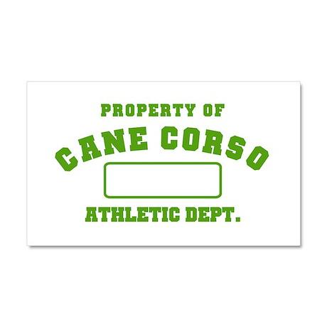 Cane Corso Athletic Dept Car Magnet 20 x 12