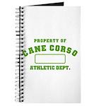 Cane Corso Athletic Dept Journal