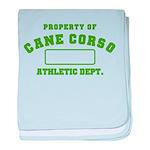 Cane Corso Athletic Dept baby blanket