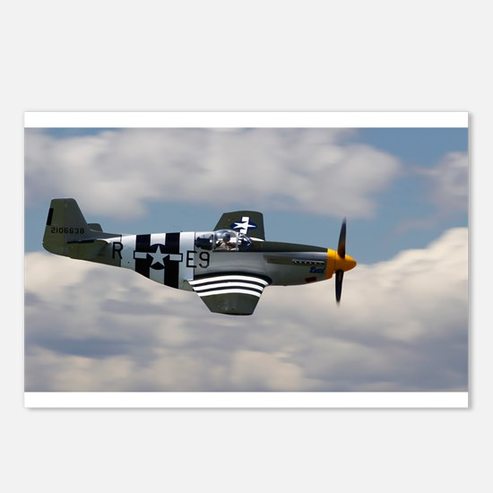 P 51 Mustang Postcards (Package of 8)