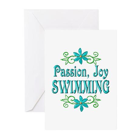 Swimming Joy Greeting Cards (Pk of 20)